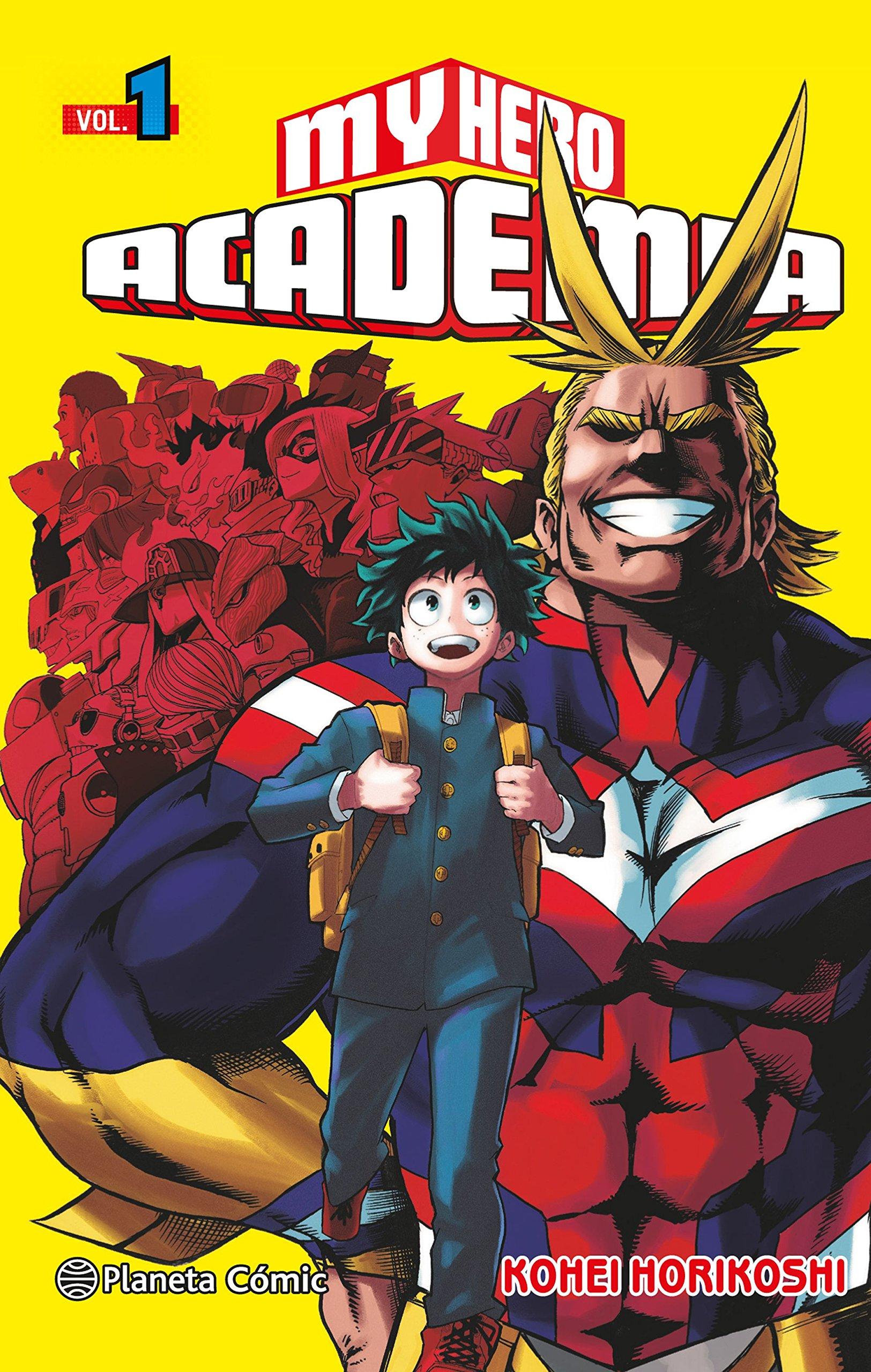 My Hero Academia nº 01 (Manga Shonen) Tapa blanda – 18 oct 2016 Kohei Horikoshi Daruma Planeta DeAgostini Cómics 8416693501