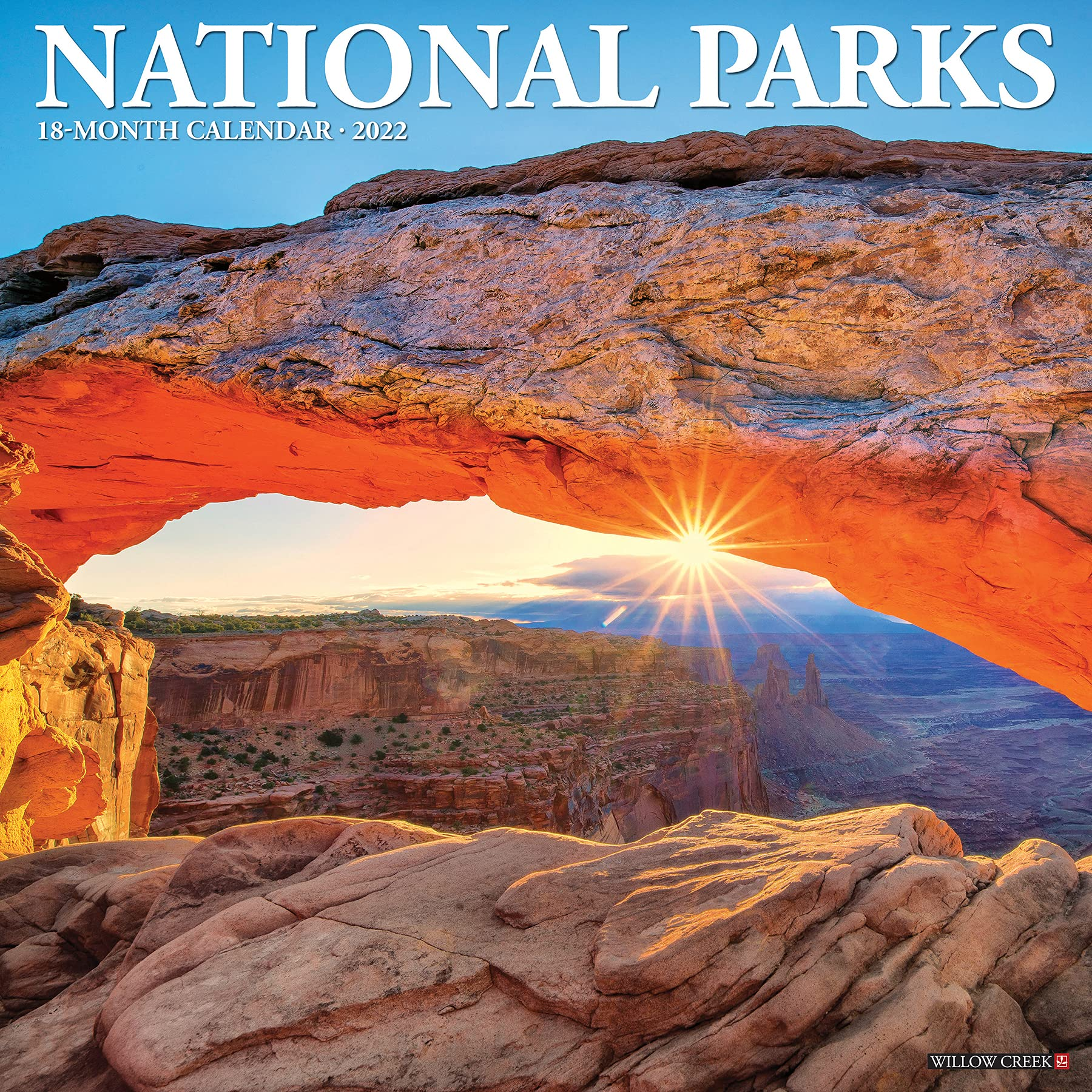 National Parks Calendar 2022.Sdxsfgmr Jcq0m