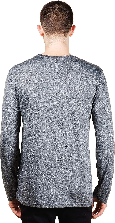 Ultra Game NBA Mens Active Long Sleeve Tee Shirt
