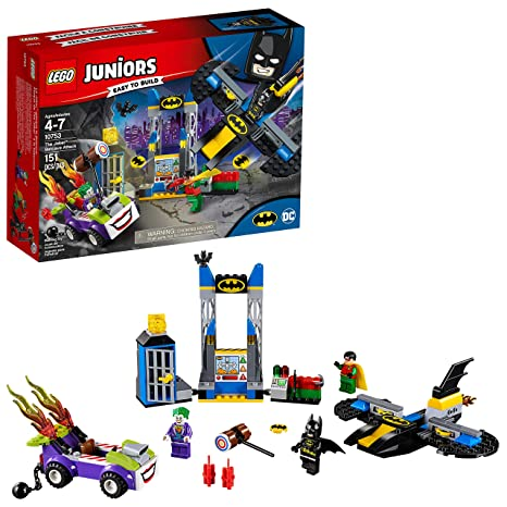 Amazon.com: LEGO Juniors the Joker Batcave Attack 10753 Building Kit ...