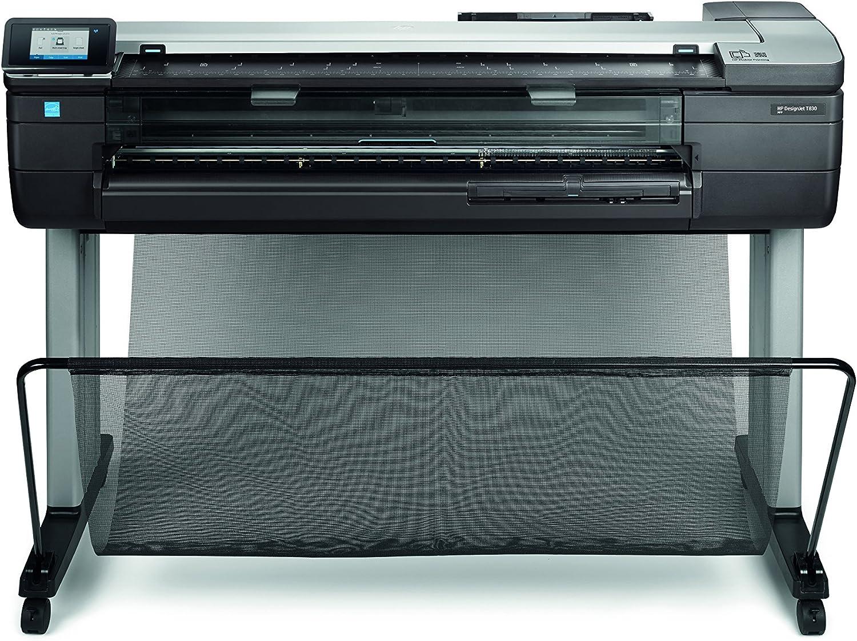 HP Designjet T830 36-in - Impresora de Gran Formato (HP-GL/2, HP-RTL, PCL 3, Tiff, URF, 2400 x 1200 dpi, Negro, Cian, Magenta, Amarillo, A1 (594 x 841 mm), Inyección de Tinta térmica,