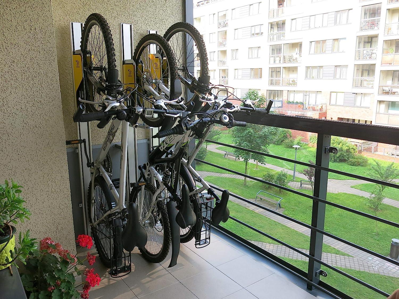 Estacionamiento para bicicleta, ahorro de espacio, para pared ...