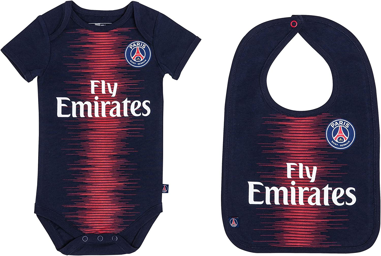 Paris Saint Germain Body + Babero bebé Fly Emirates – Camiseta ...