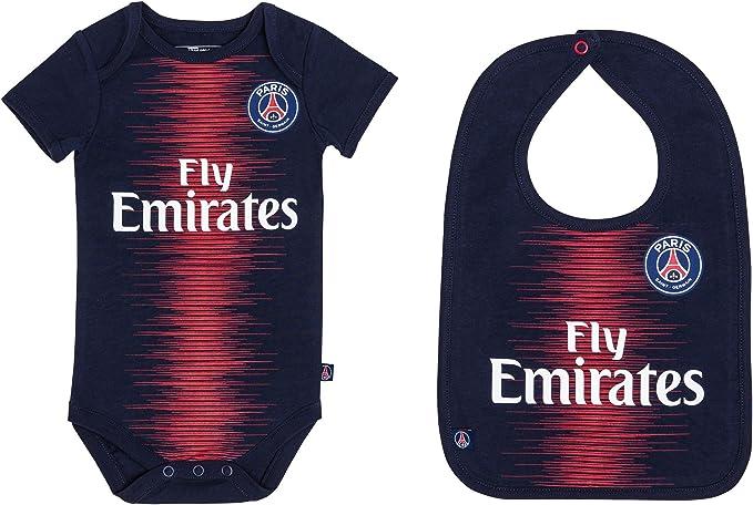L/ätzchen PSG Baby Paris Saint-Germain Set Body Offizielle Kollektion