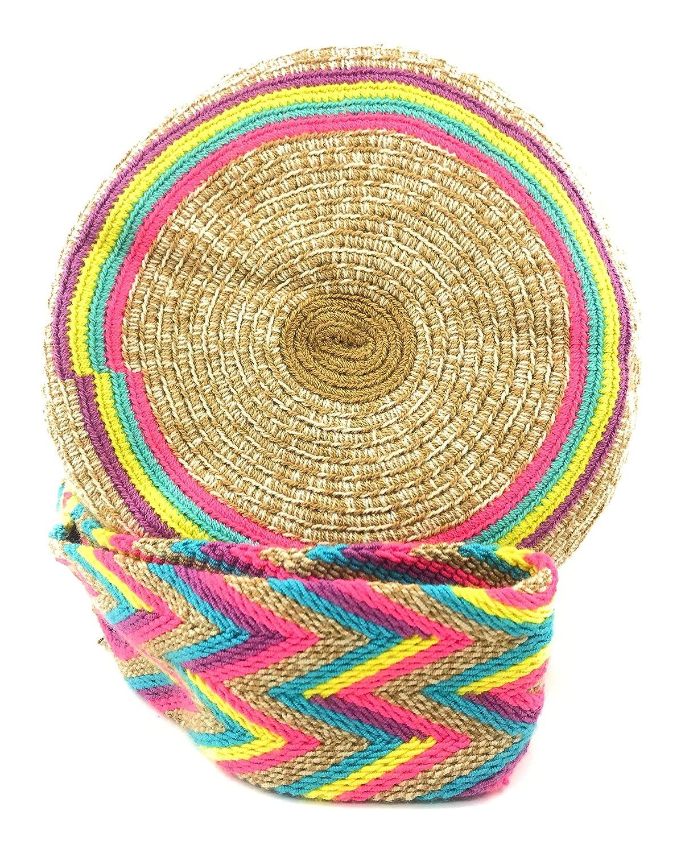 COLMBIAN STYLE colombianska handväskor med unika tryck, Wayuu-ryggsäck för kvinnor och män., - Korome - STANDARD Caserio Santa Rosa