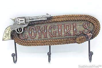 Western rústico madera Look plata uñas pistola de Vaquera ...