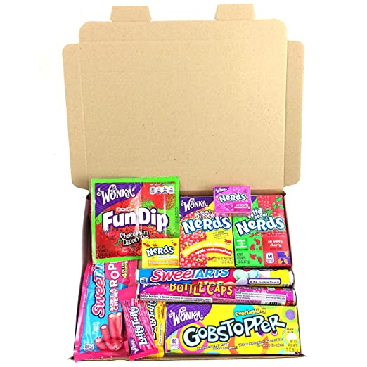 5 opinioni per Confezione Assortita di Snack Wonka | Caramelle Americana per Idea Regalo di