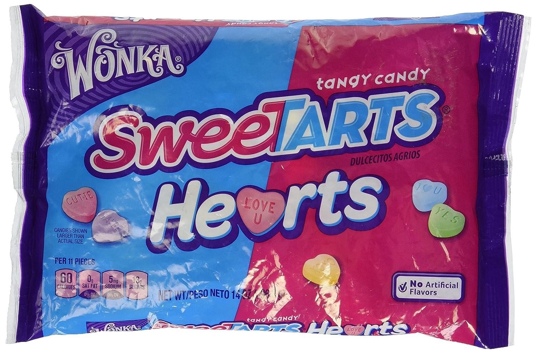 Amazon.com : Wonka Sweet Tart Hearts Valentine Candy 14 Oz : Hard Candy :  Grocery U0026 Gourmet Food