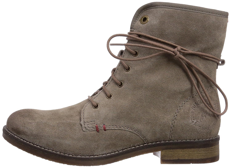 S.Oliver 25225 Damen Combat Stiefel 324) Braun (Pepper 324) Stiefel bb4112