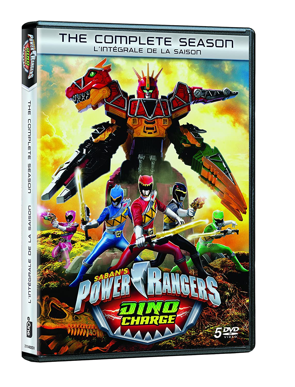 Amazon.com: Power Rangers: Dino Charge (The Complete Season ...