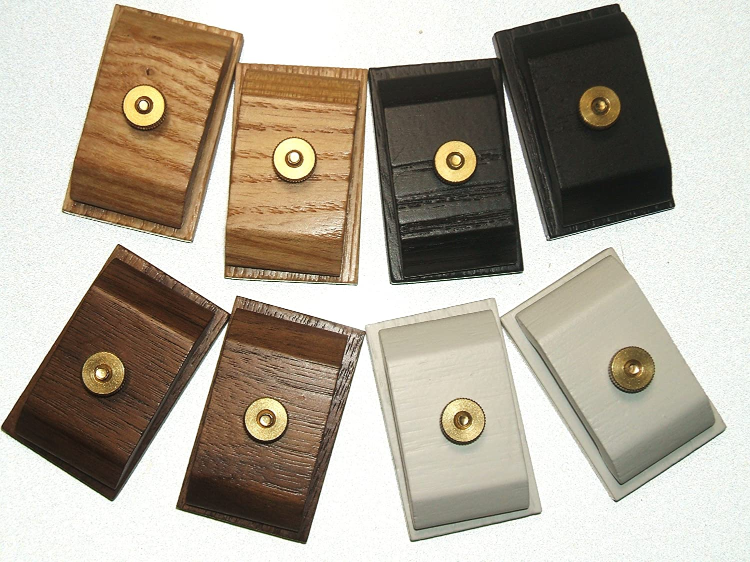 Amazon.com: 1 Pair Mini Ash Wood Hang Ups Quilt Clamps Clips   Small:  Kitchen U0026 Dining