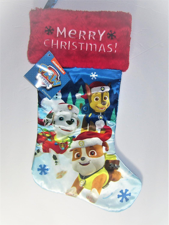 Amazon Nickelodeon Paw Patrol Christmas Stockings for