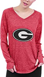 26167e39ff chicka-d NCAA Georgia Bulldogs Favorite V-Neck T-Shirt