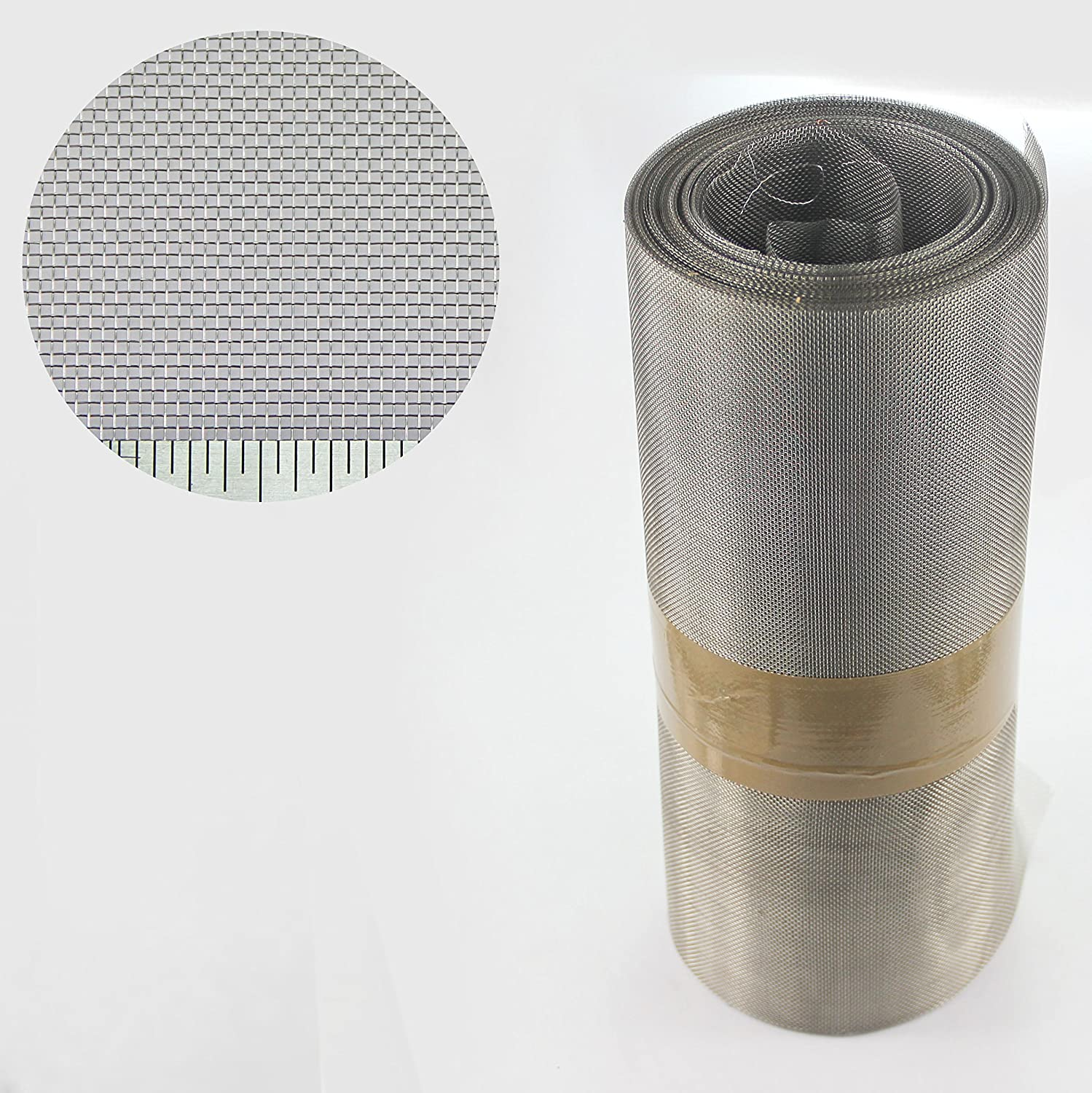 Stainless Steel Insect Mesh Roll 300mm X 10 Metre Roll (#22 x 0.94mm Hole x 0.22mm Wire) The Mesh Company
