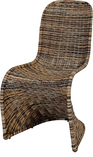 Schwingstuhl Esszimmer Stuhl Aus Rattan Multicolor Esszimmerstuhl