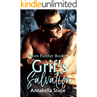 Grif's Salvation: MMF Military Suspense (Delta Force Team Panther Book 6) book cover