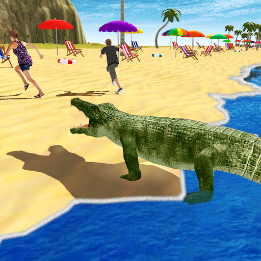 - Angry Crocodile Attack Sim 3D
