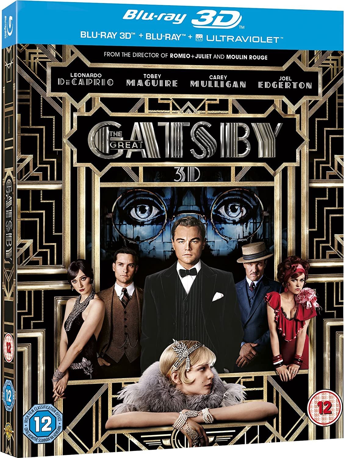 Amazoncom Great Gatsby 3D Blu ray Tobey Maguire