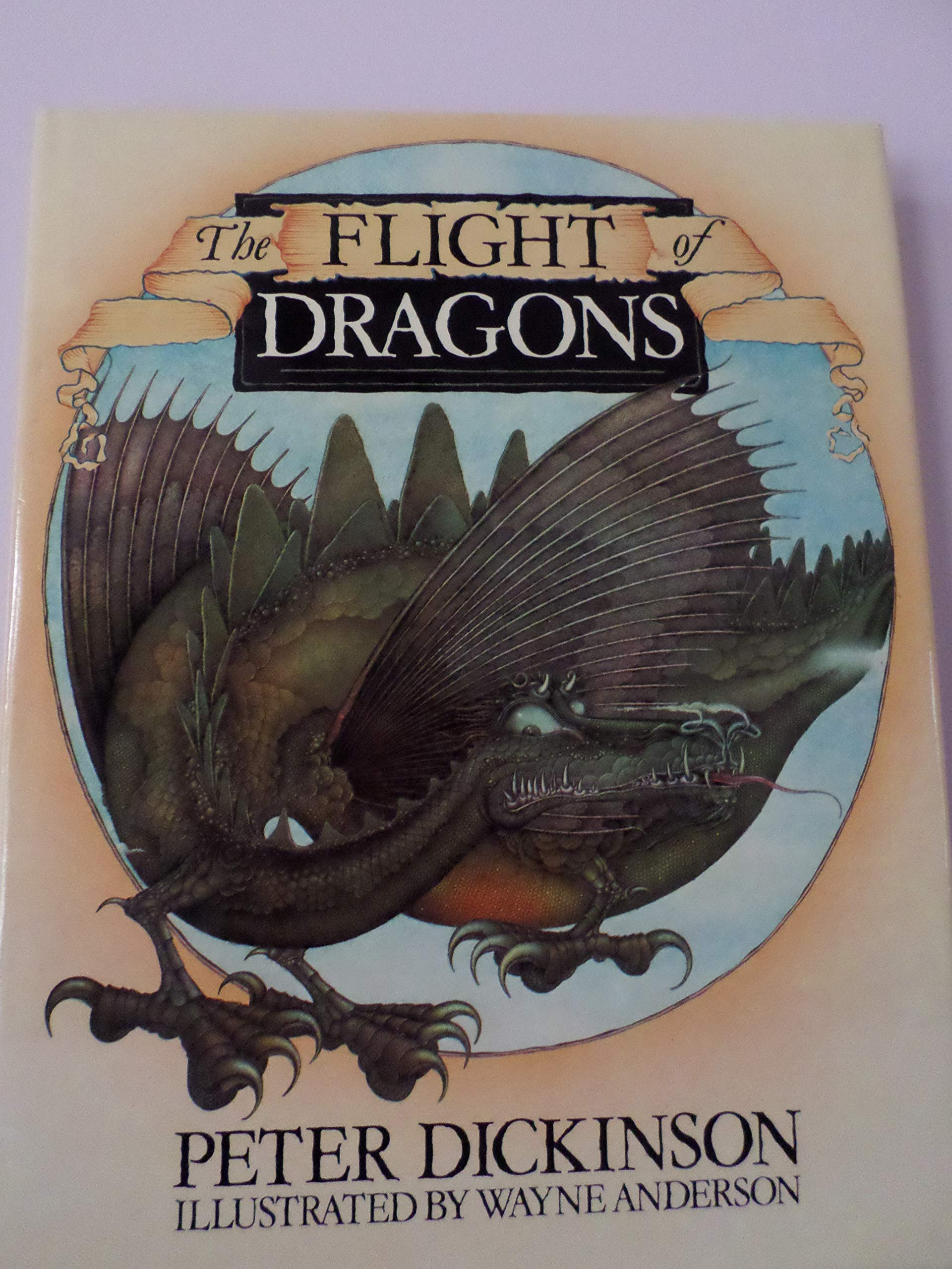 Little Dragon is Learning to Fly (The Dragons Book 2)
