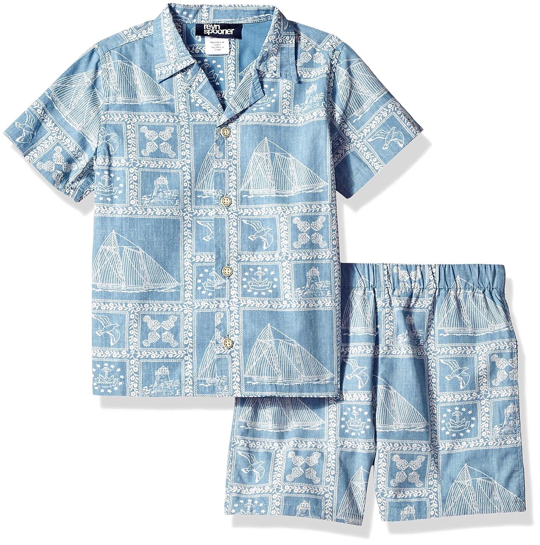 Reyn Spooner Boys Cabana Shirt /& Short Set