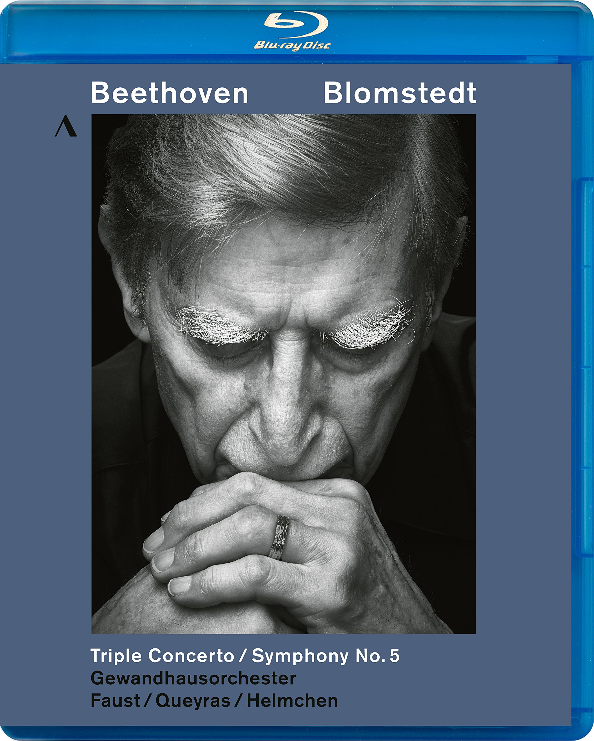 Blu-ray : BEETHOVEN - FAUST - BLOMSTEDT - Beethoven: Triple Concerto & Symphony 5 (Blu-ray)