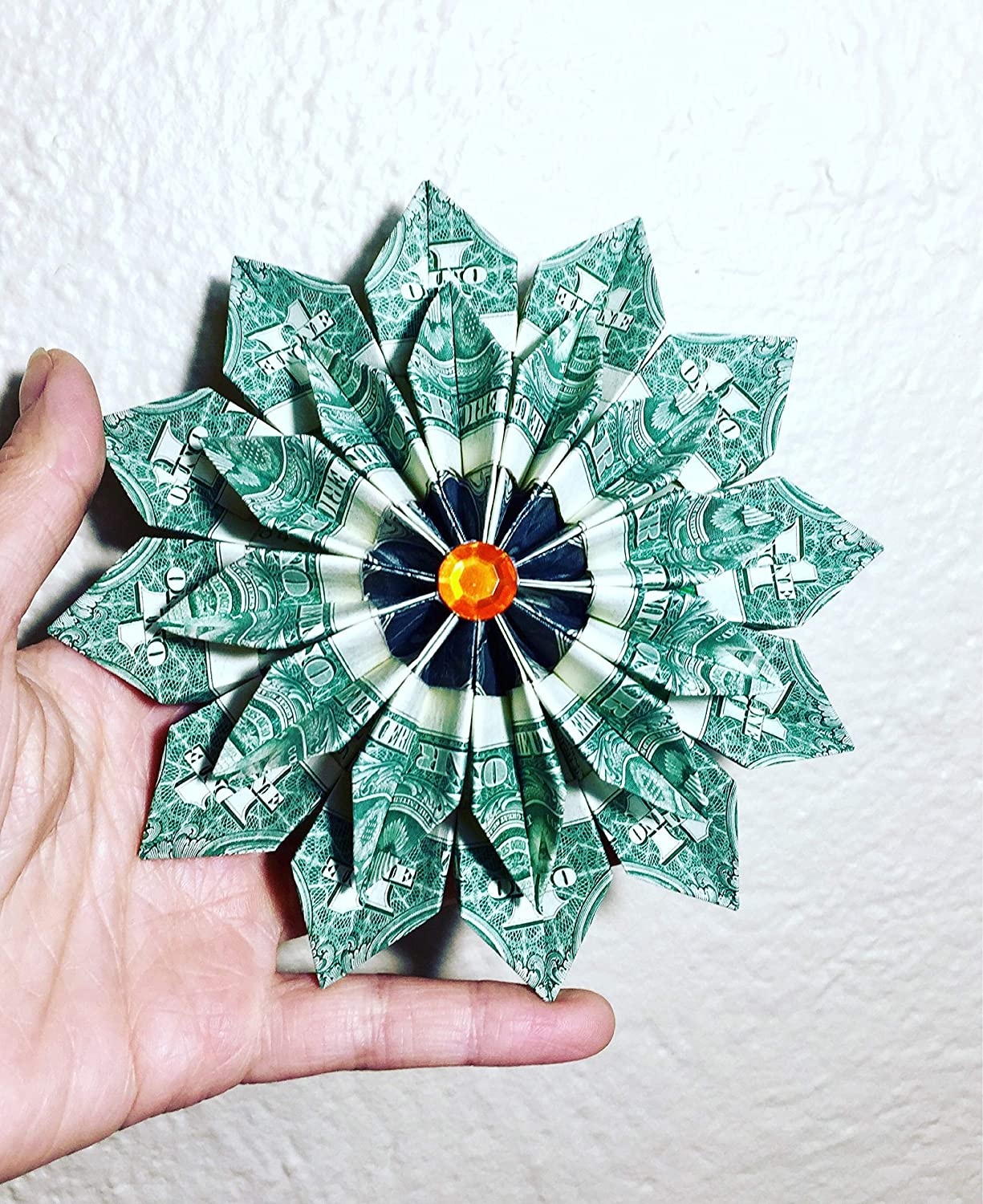 Money Origami, Flower Edition: 10 Different Ways to Fold a Dollar ... | 1500x1225