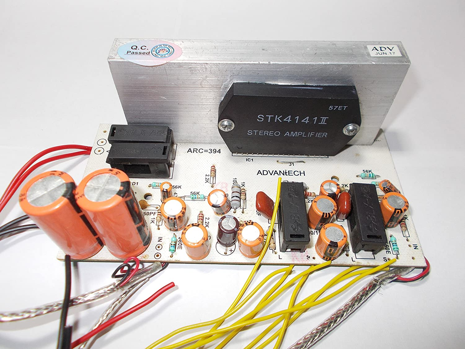 Soumik Electricals Stk4141 Amplifier Kit 20 Watt Electronic Project Circuit And Explanation Electronics