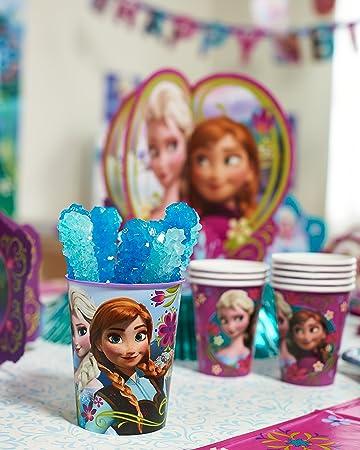 Disney Frozen Keepsake Stadium Cup 16 oz Elsa and Anna Birthday Party Favors New