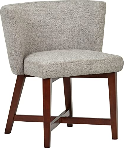 Amazon Brand Rivet Mid-Century Modern Curved Back Accent Dining Room Chair