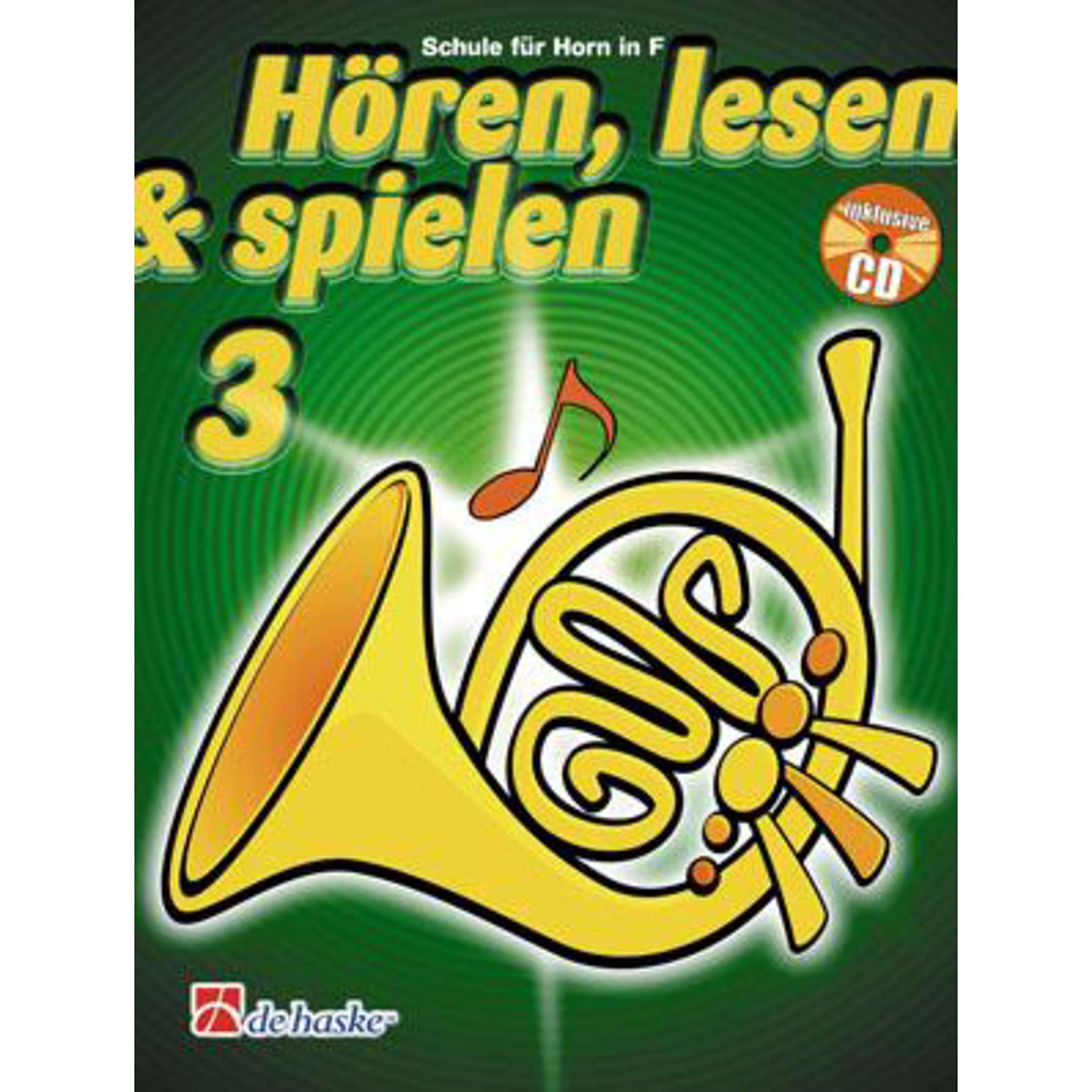 Hren Lesen Spielen 3 Horn in F