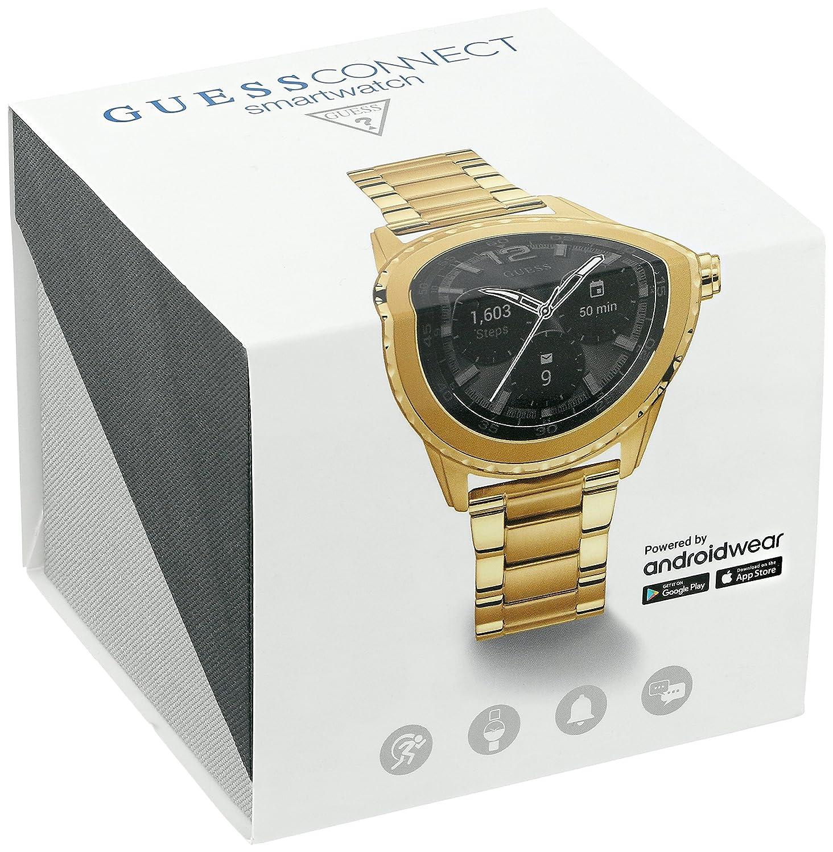 GUESS Cassidy Unisex Touch AMOLED Oro Reloj Inteligente: Amazon.es: Electrónica