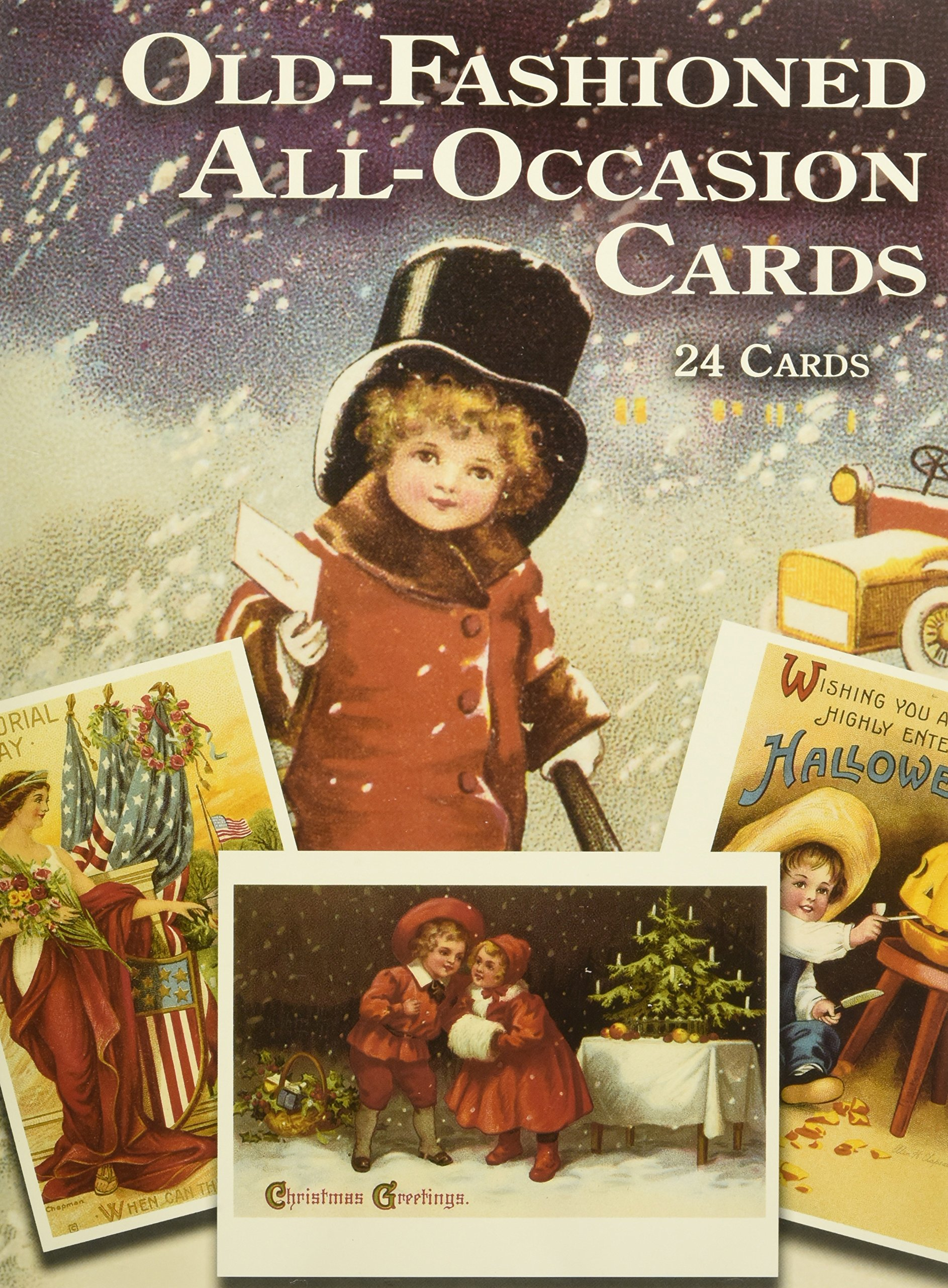 Old Fashioned All Occasion Cards 24 Cards Dover Postcards