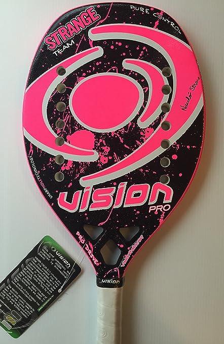 Vision raqueta de Beach Tenis Strange Team 2016