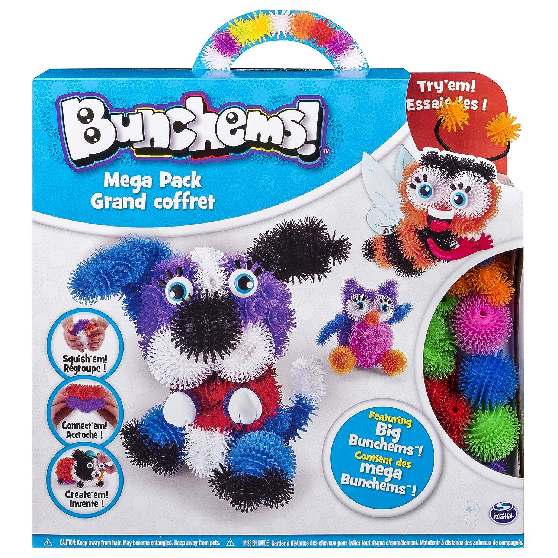 Bunchems - 6026103 - Loisirs Créatifs - Mega Pack - Modèle Aléatoire Spin Master