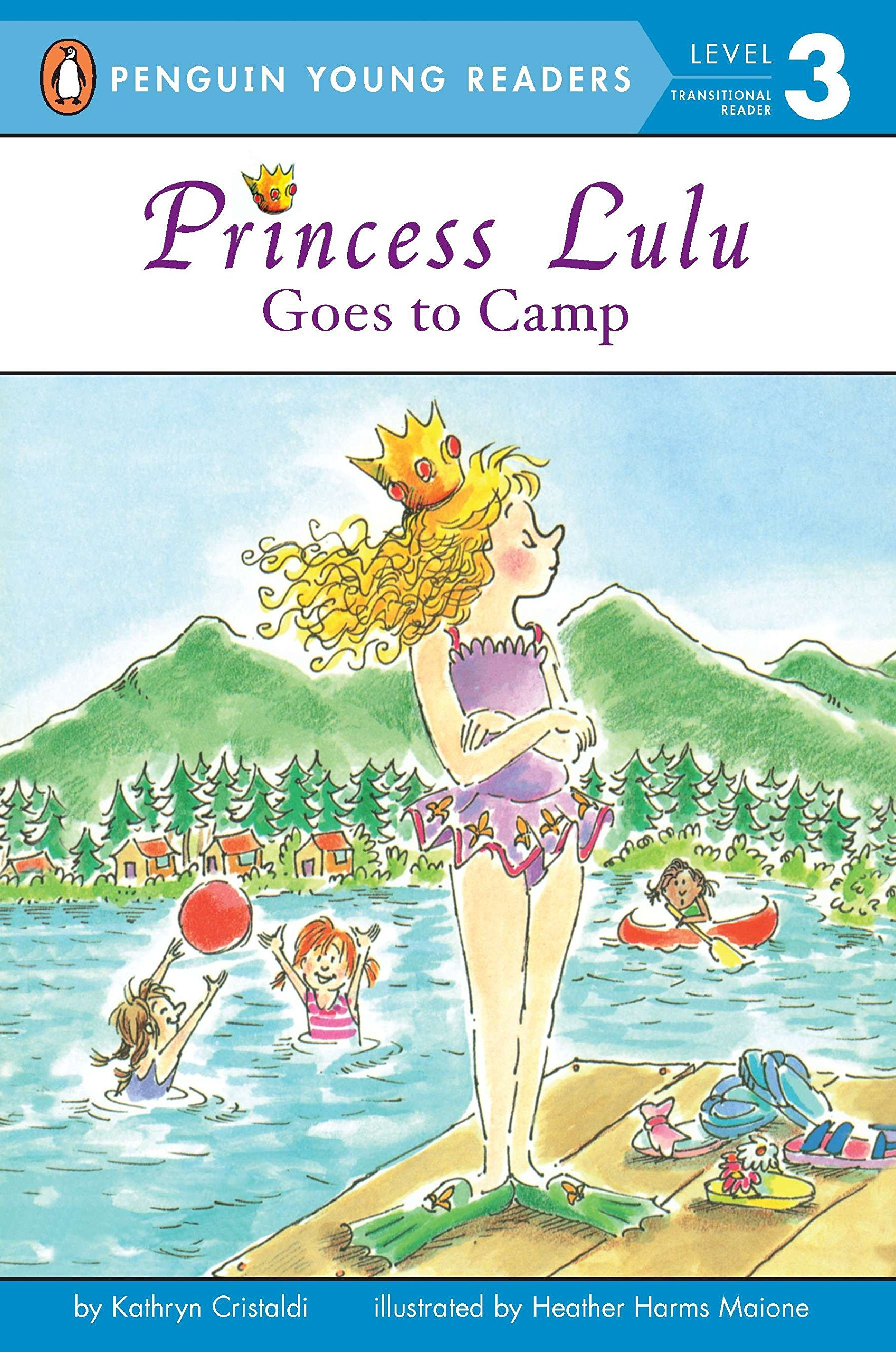 Amazon.com: Princess Lulu Goes to Camp (Penguin Young Readers, Level 3)  (9780448411255): Kathryn Cristaldi, Heather Maione: Books