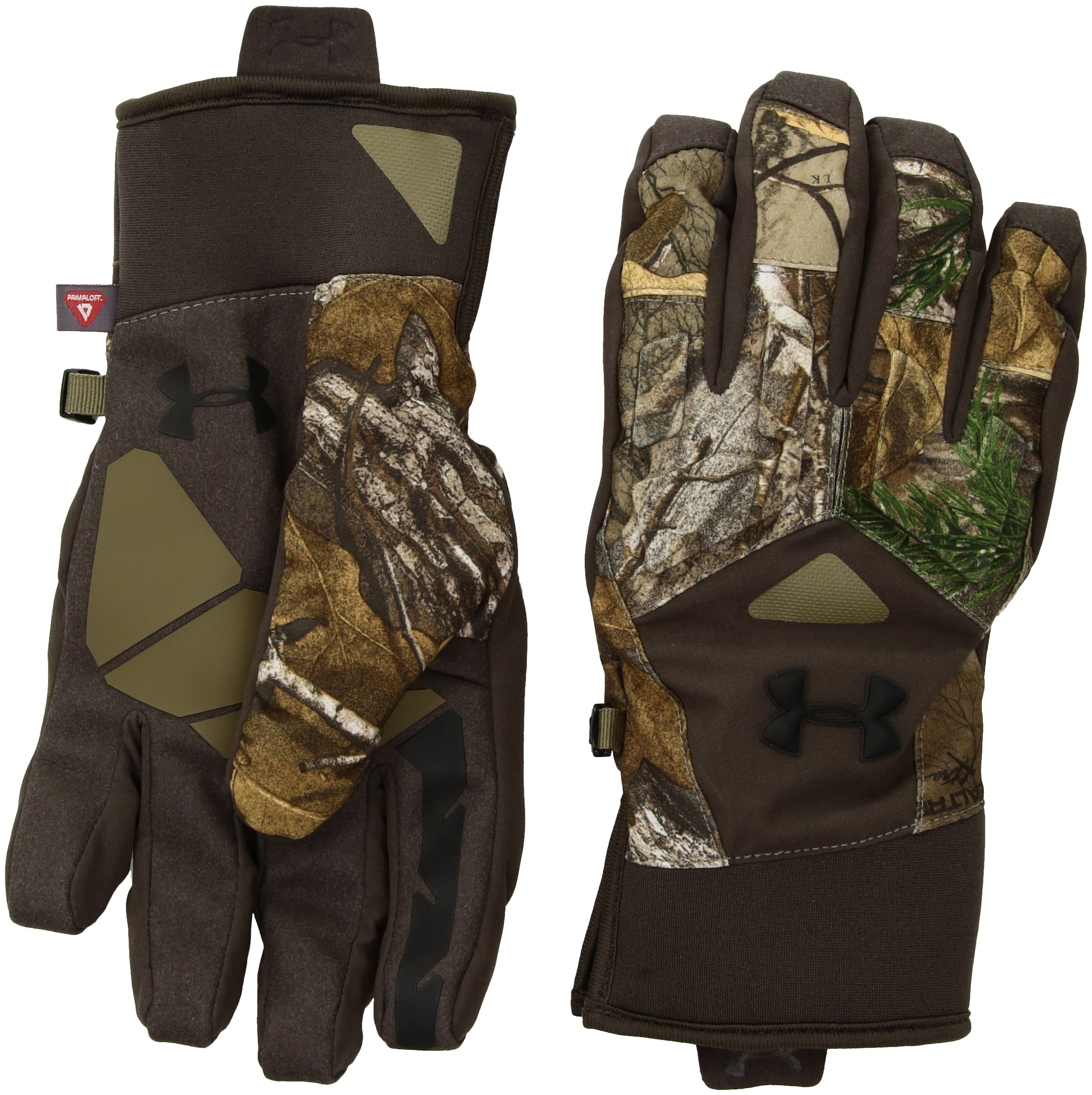 Under Armour Men's Scent Control Primer 2.0 Gloves, Realtree Ap-Xtra (946)/Black, Small/Medium by Under Armour