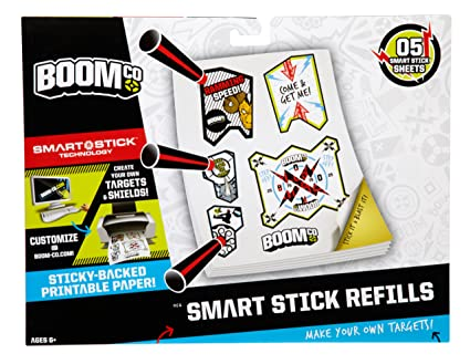 photo relating to Nerf Targets Printable identify BOOMco. Printable Aim Stickers