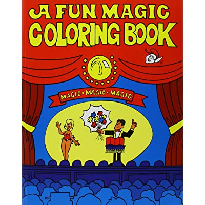 Halloween FX Coloring Book Fun Magic: Toys & Games