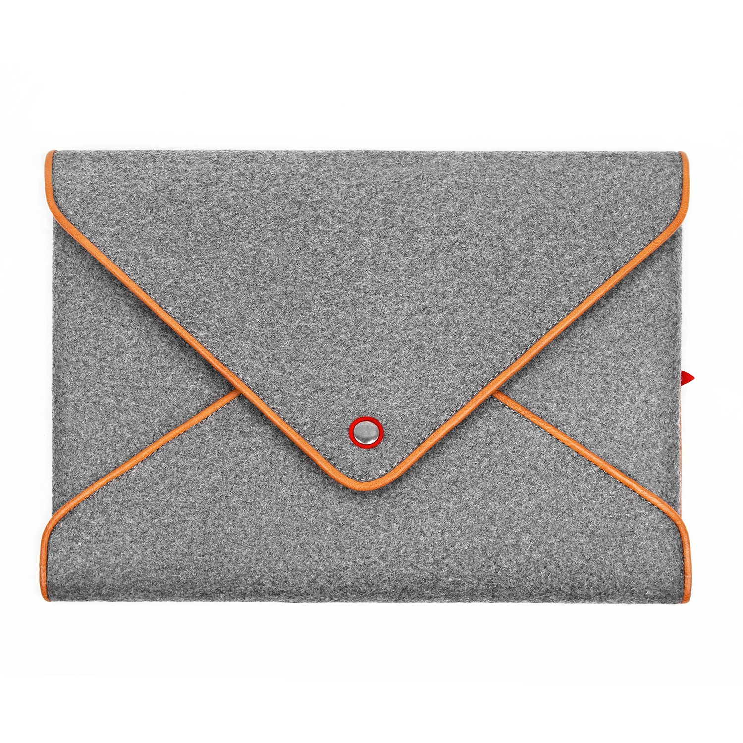 TOPHOME Laptop Sleeve Business Office Bag Messenger Bag 15-15.4 Inch for Macbook Air Case Notebook/Computer/Tablet/Acer/HP/Dell/Lenovo Notebook/Computer/Tablet/Acer/HP/Dell/Lenovo Wool Felt Leather