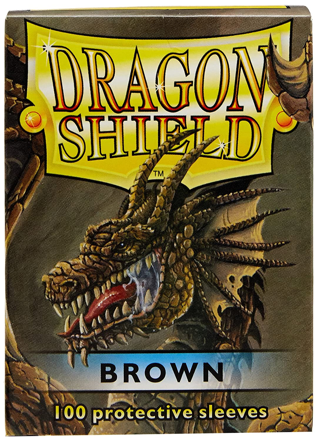 Amazon.com: Dragon Shield Protective Card Sleeves (100 Count), Fusion: Toys & Games