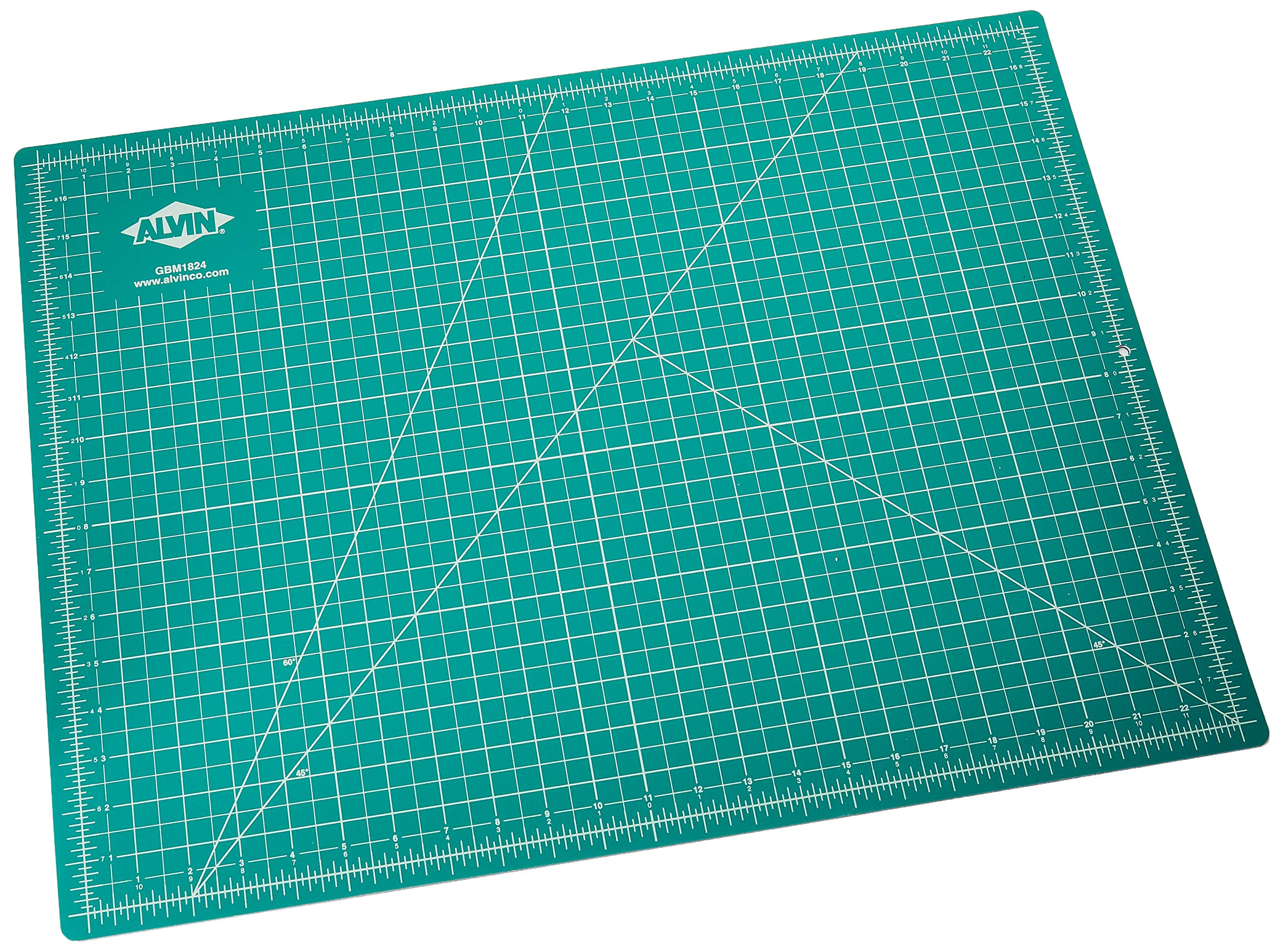 Alvin GBM1824 GBM Series 18 inches x 24 inches Green/Black Professional Self-Healing Cutting Mat by Alvin