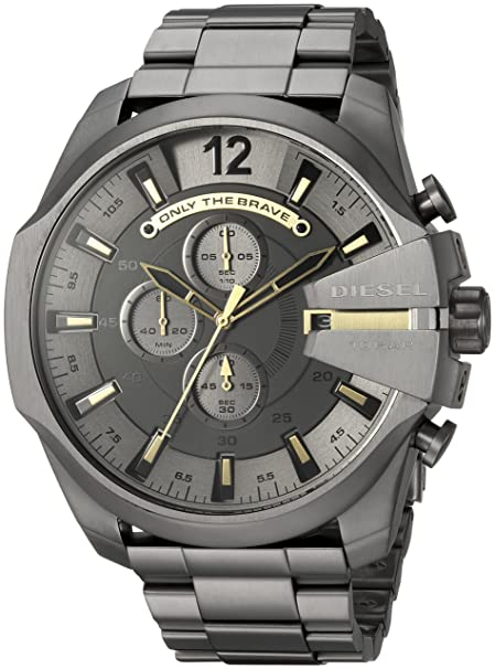 Diesel Analog Grey Dial Men's Watch-DZ4466 Men at amazon