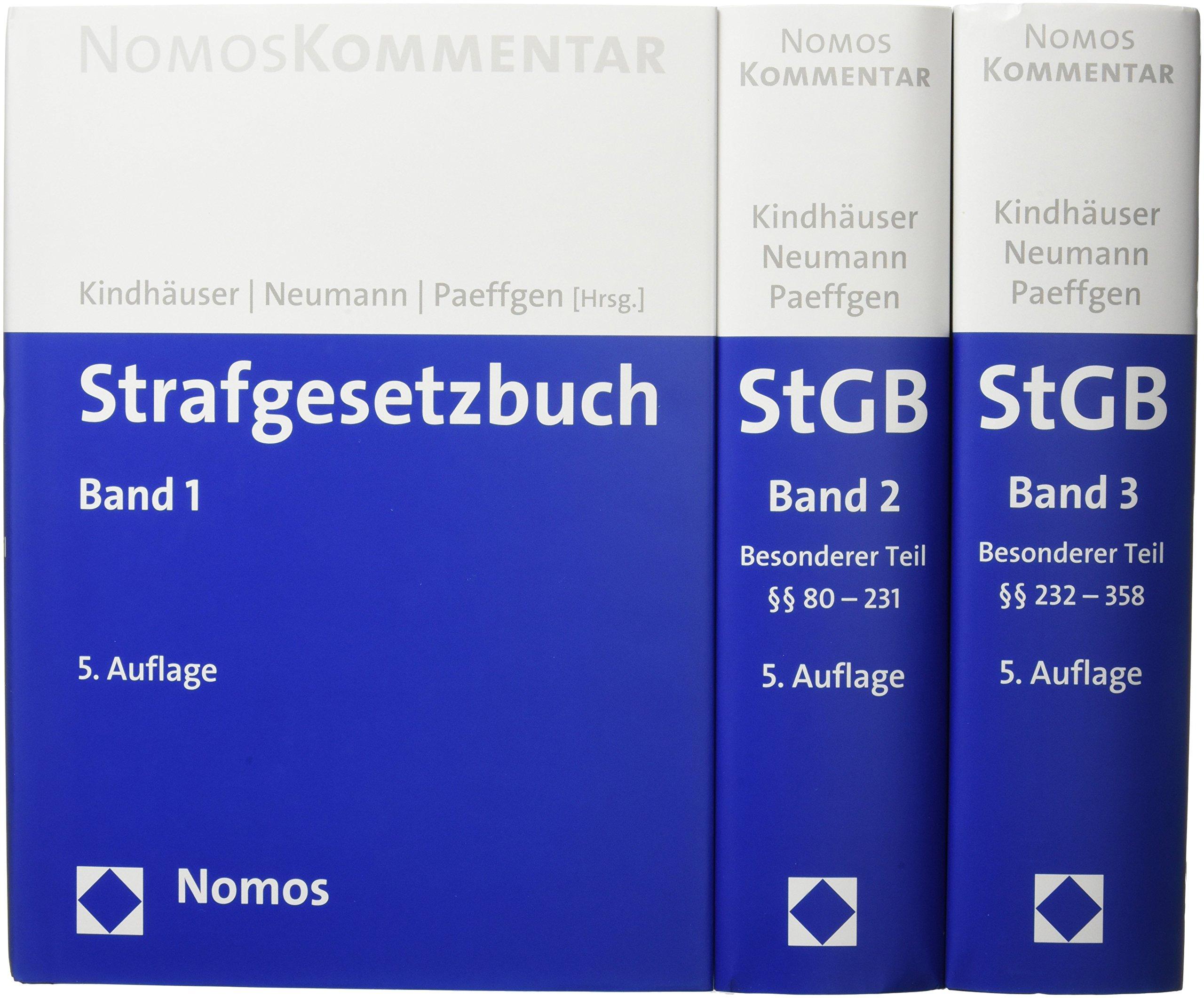 Strafgesetzbuch: Amazon.de: Urs Kindhäuser, Ulfrid Neumann, Hans ...