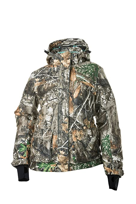 e66ef7a30521f DSG Outerwear Women's Kylie 2.0 Hunting Jacket with Realtree Camo Edge ...