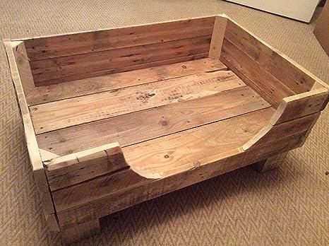 Letto Di Pallets : Rustico cane letto pallet in legno amazon prodotti per