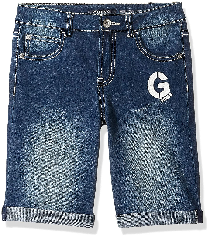 GUESS Boys G Graphic Denim Shorts