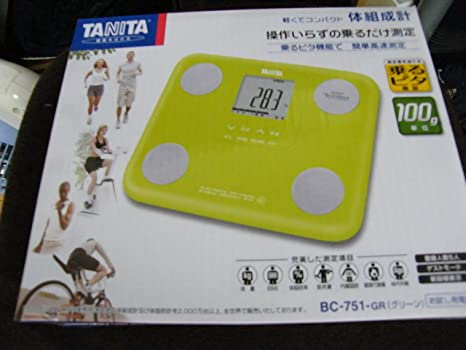 TANITA BC-751-PK InnerScan Body Composition Diet Monitor