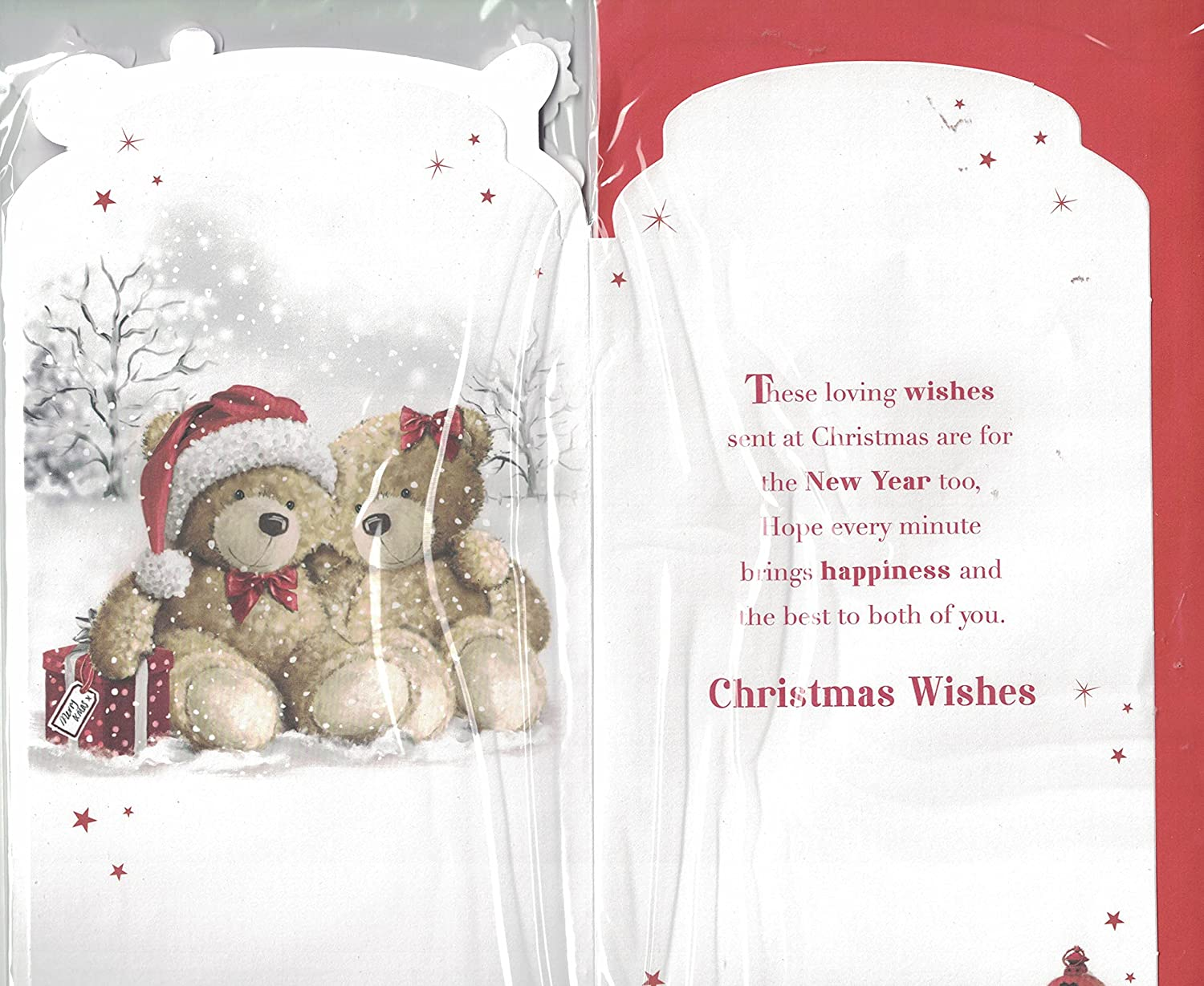 Daughter And Son-in-Law Christmas Card ~ Daughter /& Son-in-Law Its ...