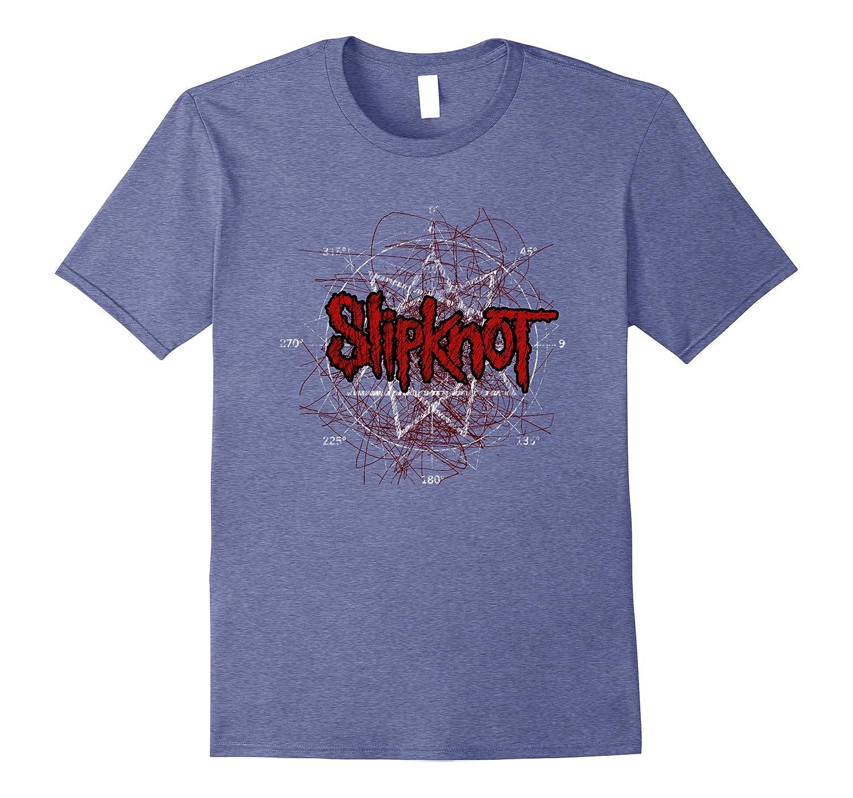 Slipknot Scribble Star Logo T-Shirt-RT