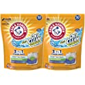 2-Pack Arm & Hammer 50 Count Plus OxiClean 3-in-1 HE Laundry Power Pak